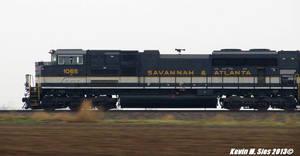 Savannah Atlanta heritage # 1065 track speed