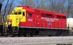 Arkansas Oklahoma GP30 2402