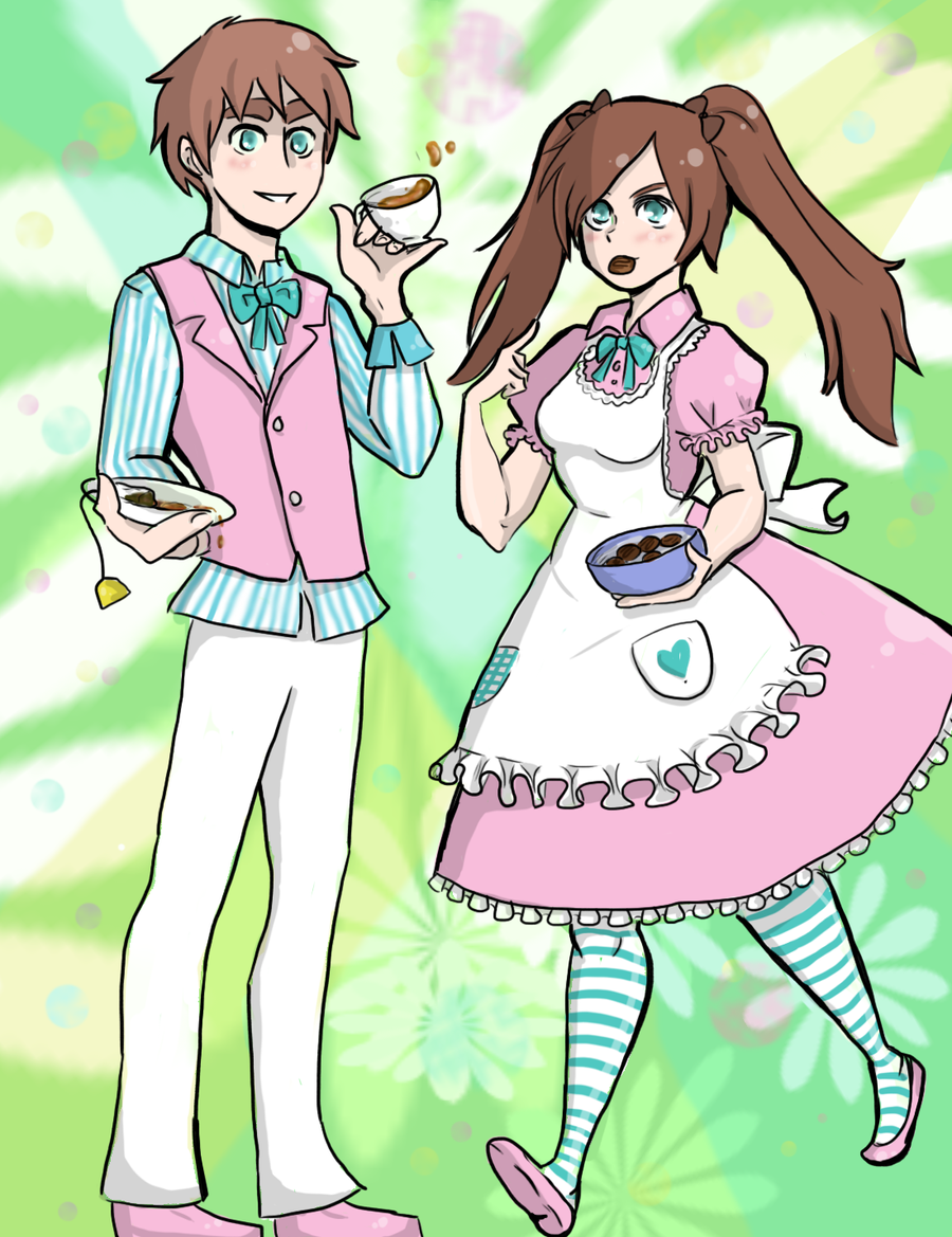 Psychedelic Tea Time by EsuNeh