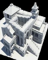 Escher - Ascending Descending by zwamneus