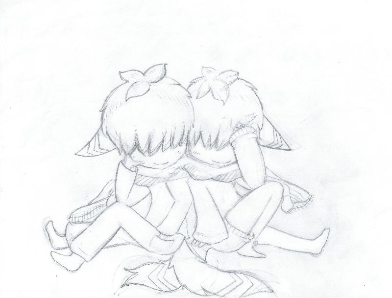 Twin sketch thing by Yiya-styles