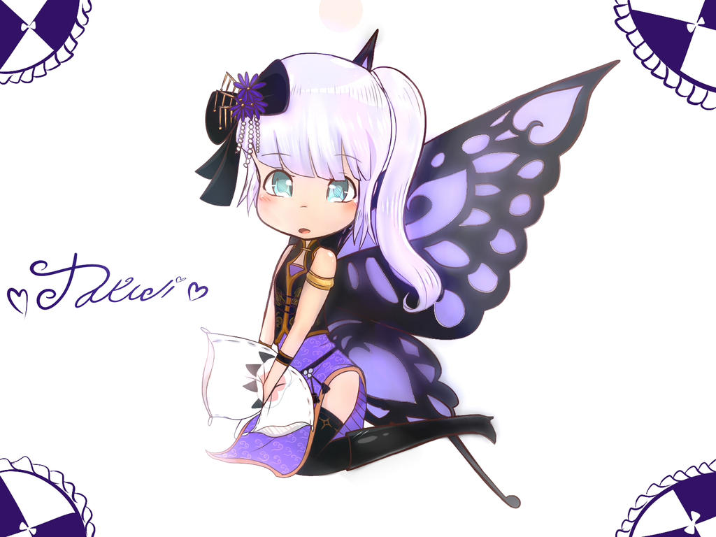 (Request) Takuji china dress butterly by Yiya-styles