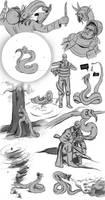 END RUN - Sketches