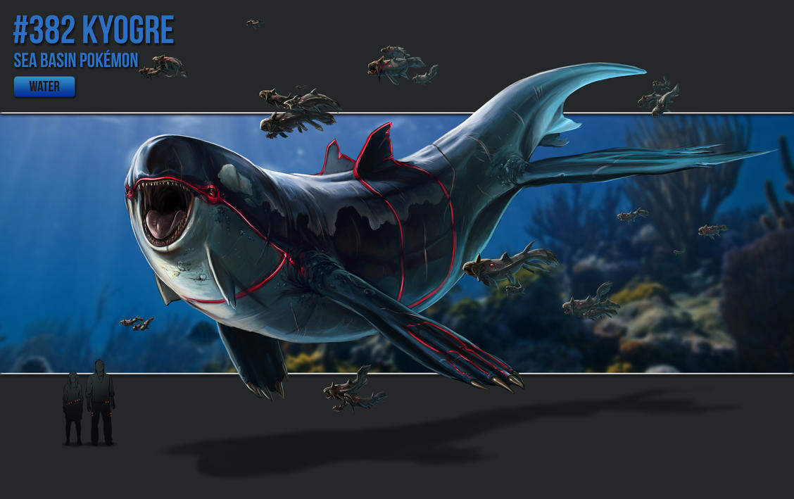 382 Kyogre By Catandcrown On Deviantart
