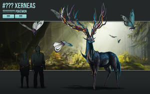 #??? - Xerneas by catandcrown