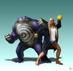 Commission - Pokemon Trainer Alec