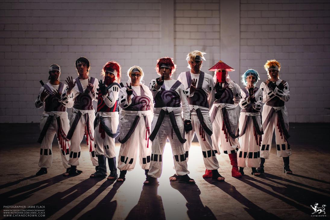 Team Jinchuriki by catandcrown