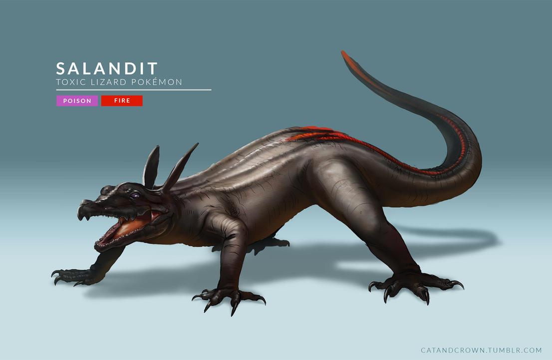 Salandit by catandcrown