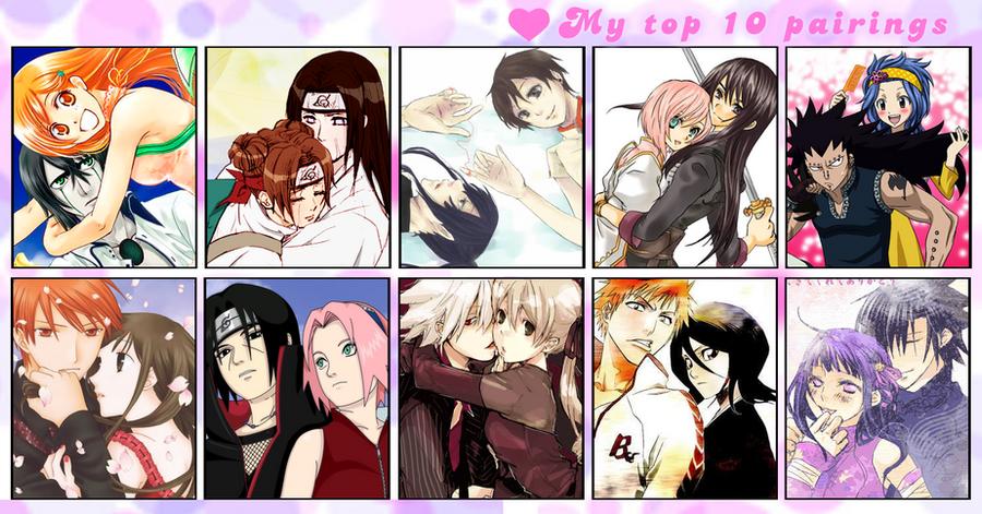 Cute anime couples list