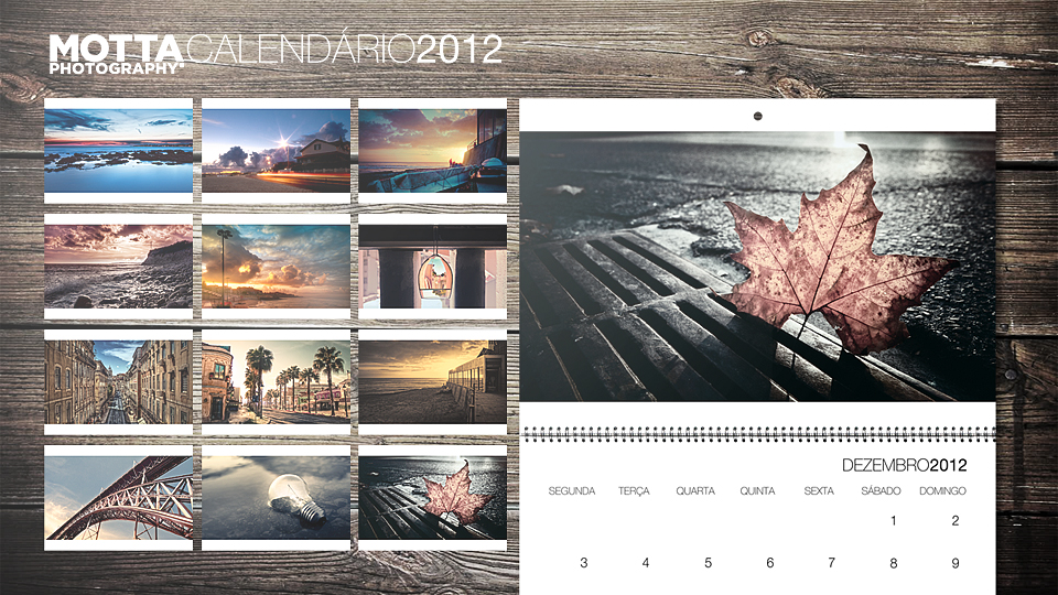 Motta Photography 2012 Calendar by insidesignz