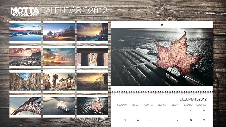 Motta Photography 2012 Calendar by insidesignz