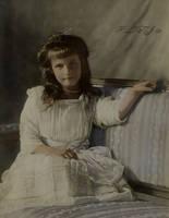Grand Duchess Anastasia in 1910 by Linnea-Rose
