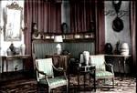 Formal reception room in Alexander Palace III