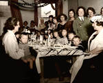 A child dinner party in London in 1922 by Linnea-Rose
