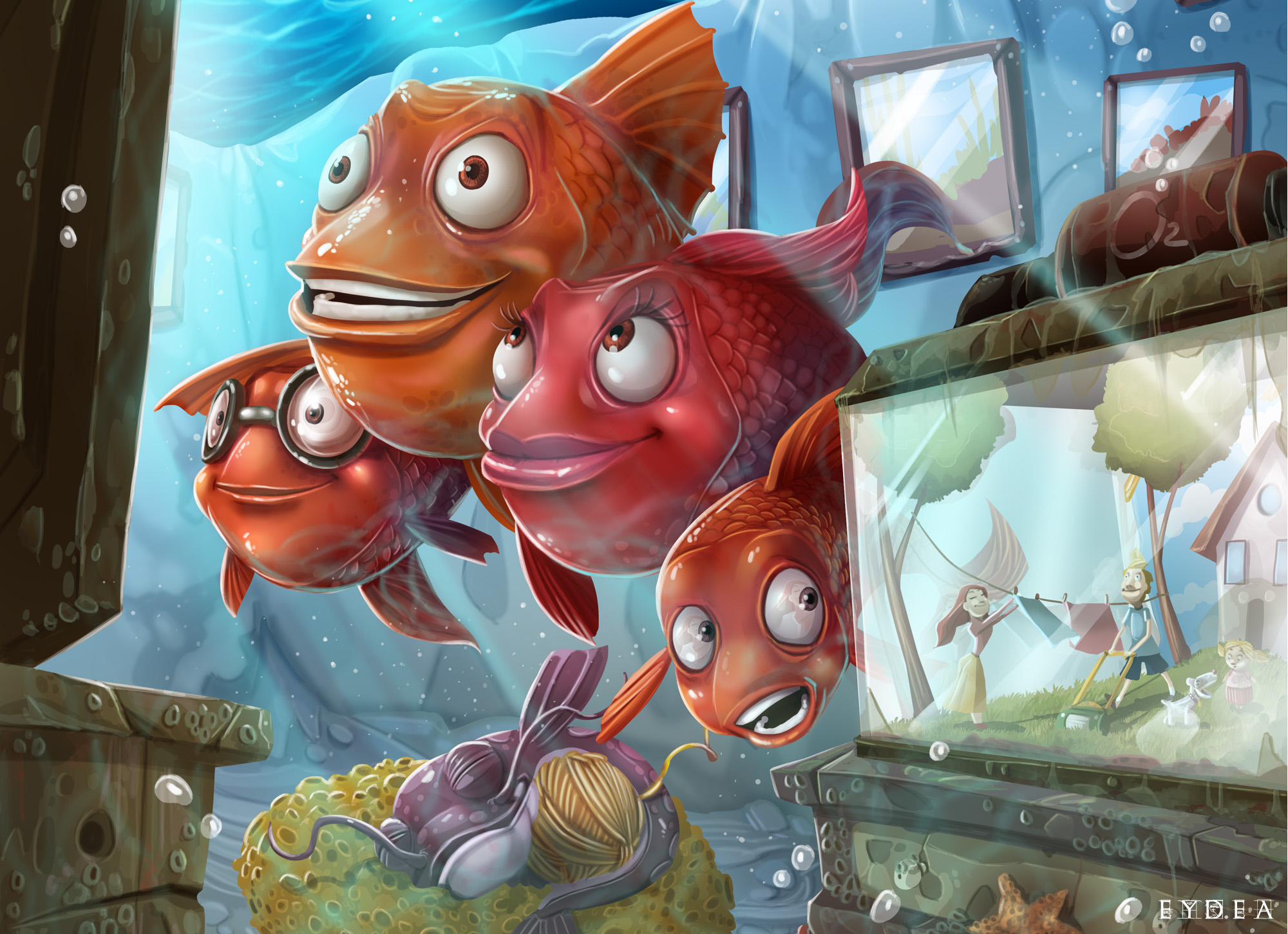 Definitely Fishy by Eydea