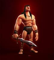 Conan - The Cimmerian by Eydea