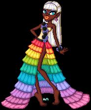 Rainbow Queen by AlinaMau