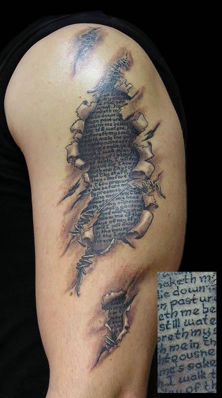 tattoo under the skin