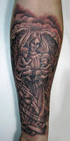 boys and the angel tattoo