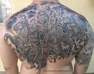 hun warriors tattoo