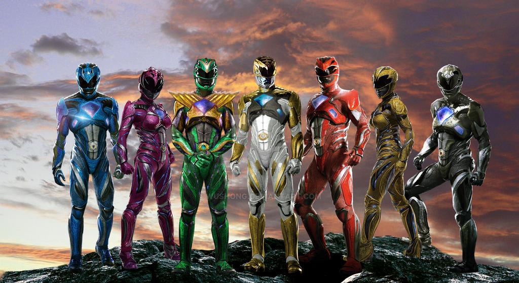 Team Power Rangers 2017 by Wushong