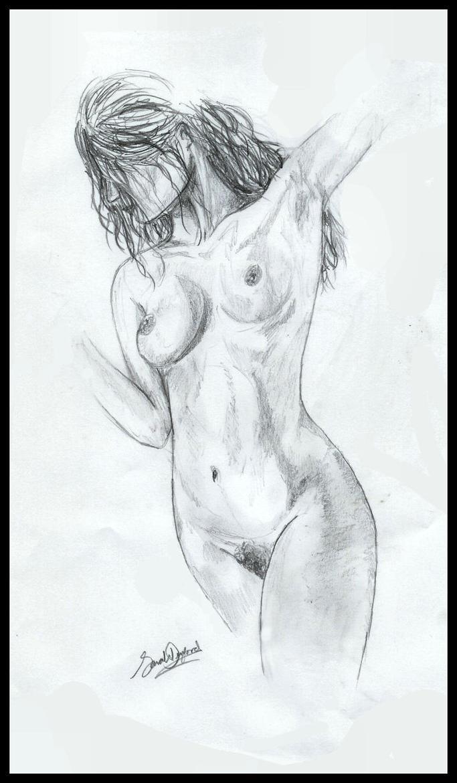 Woman Sketch by wiccan-skiez