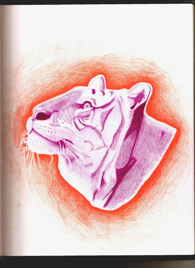 Purple Tiger Stargazer Nail Art Designs By Top Nails: Purple Tiger By Equinox5 On DeviantArt