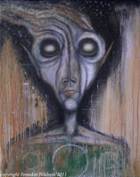 Star Man by lunarisart