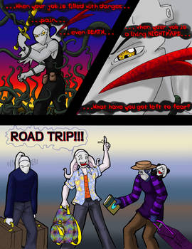 Road trip: Page one redone