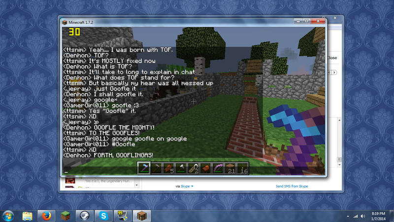 A typical night on the CG server by TTSnim