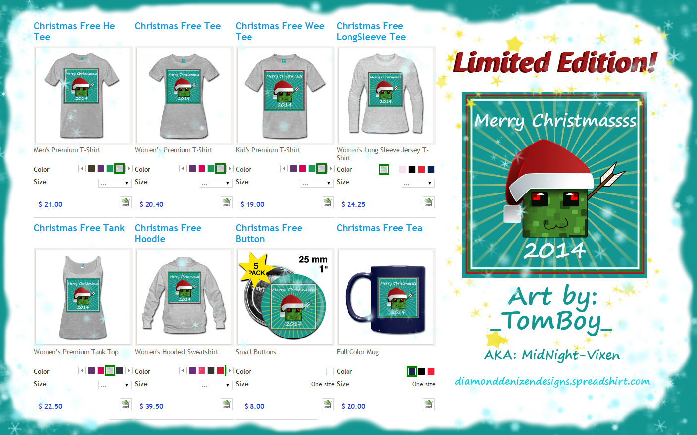 Limited Edition Christmas Free Updated! by TTSnim