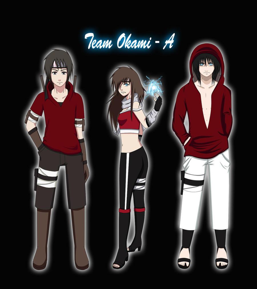 ::Shippuuden Team Okami- A:: by xxMileikaIvanaxx