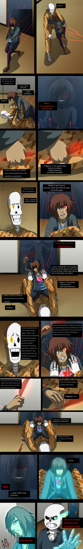 ::Nightmaretale - pg 47:: by xxMileikaIvanaxx