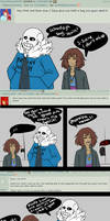 ::Ask Answers - Sans, Frisk and Chara (2):: by xxMileikaIvanaxx