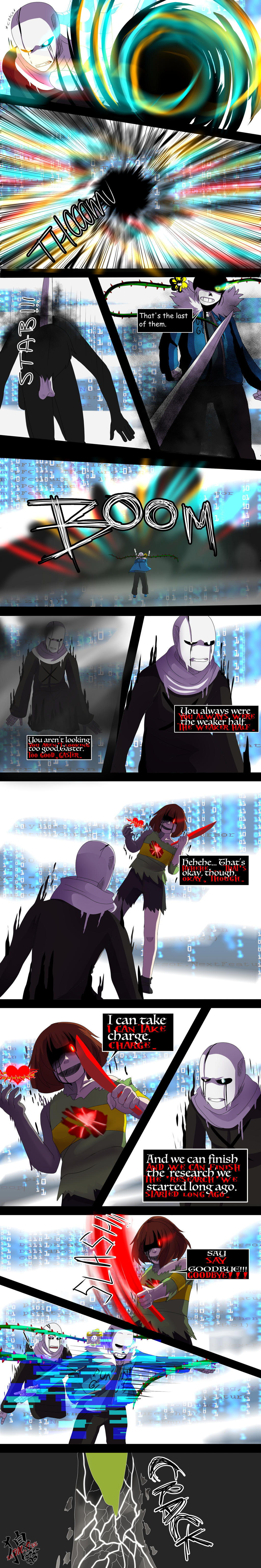 ::Nightmaretale - pg 89:: by xxMileikaIvanaxx