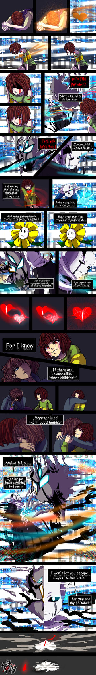 ::Nightmaretale - pg 99:: by xxMileikaIvanaxx