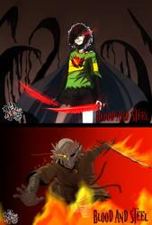 ::Charalgamate vs  The Knight:: by xxMileikaIvanaxx