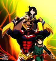 ::Boku No Hero Academia- One For All:: by xxMileikaIvanaxx