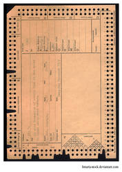 Old Punch Card