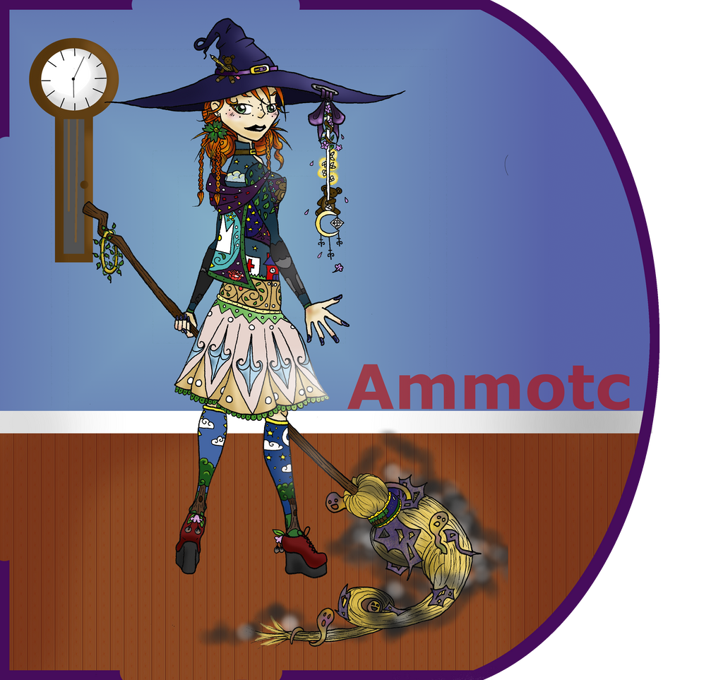 Me And My Witchly Self by ammotc