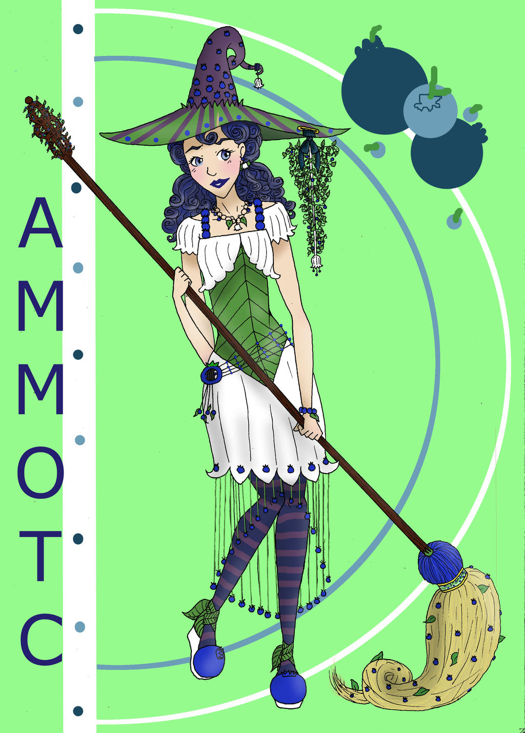 Blueberry Witch by ammotc