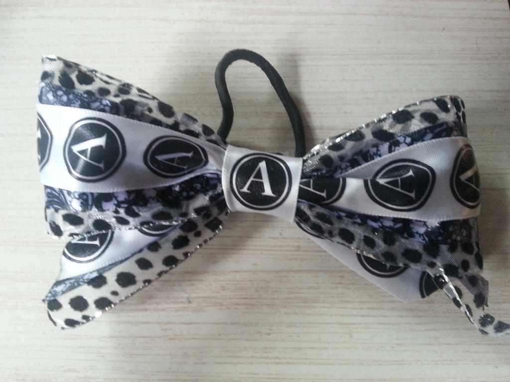 A is for... Awesome hair bow duh! by ammotc