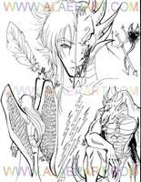 Shendu the Fallen Angel by alaer