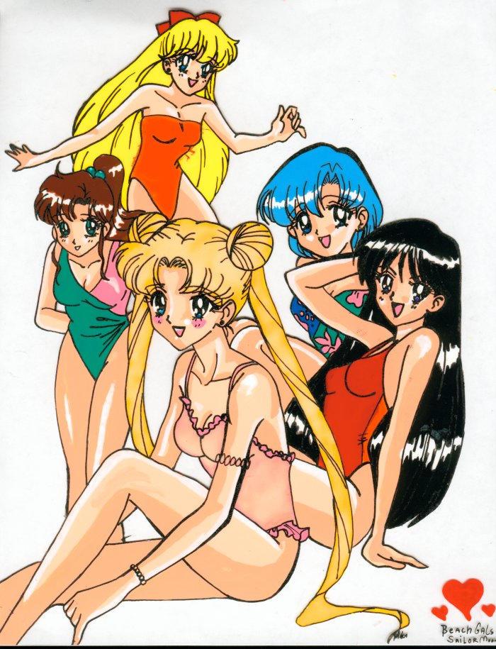 Glow In Dark Sailor Moon Beach By Alaer On Deviantart