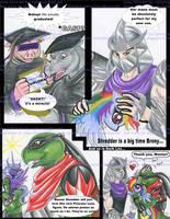 Bebop Rocksteady Graduate Shredder Dark Leo Brony by alaer