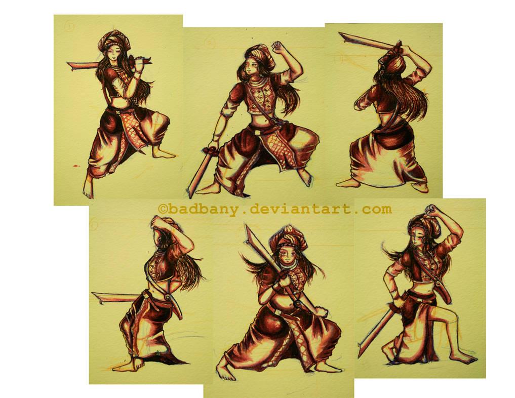 The Art of Sword Fighting by badbany