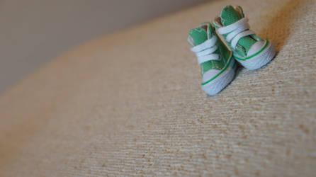 Tiny shoes, tiny people. by HannahKoller