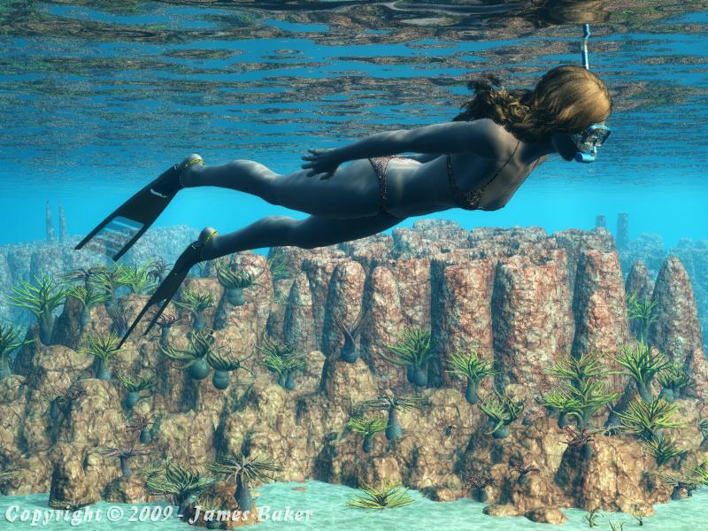 Caribbean Dream II by odhinnsrunes