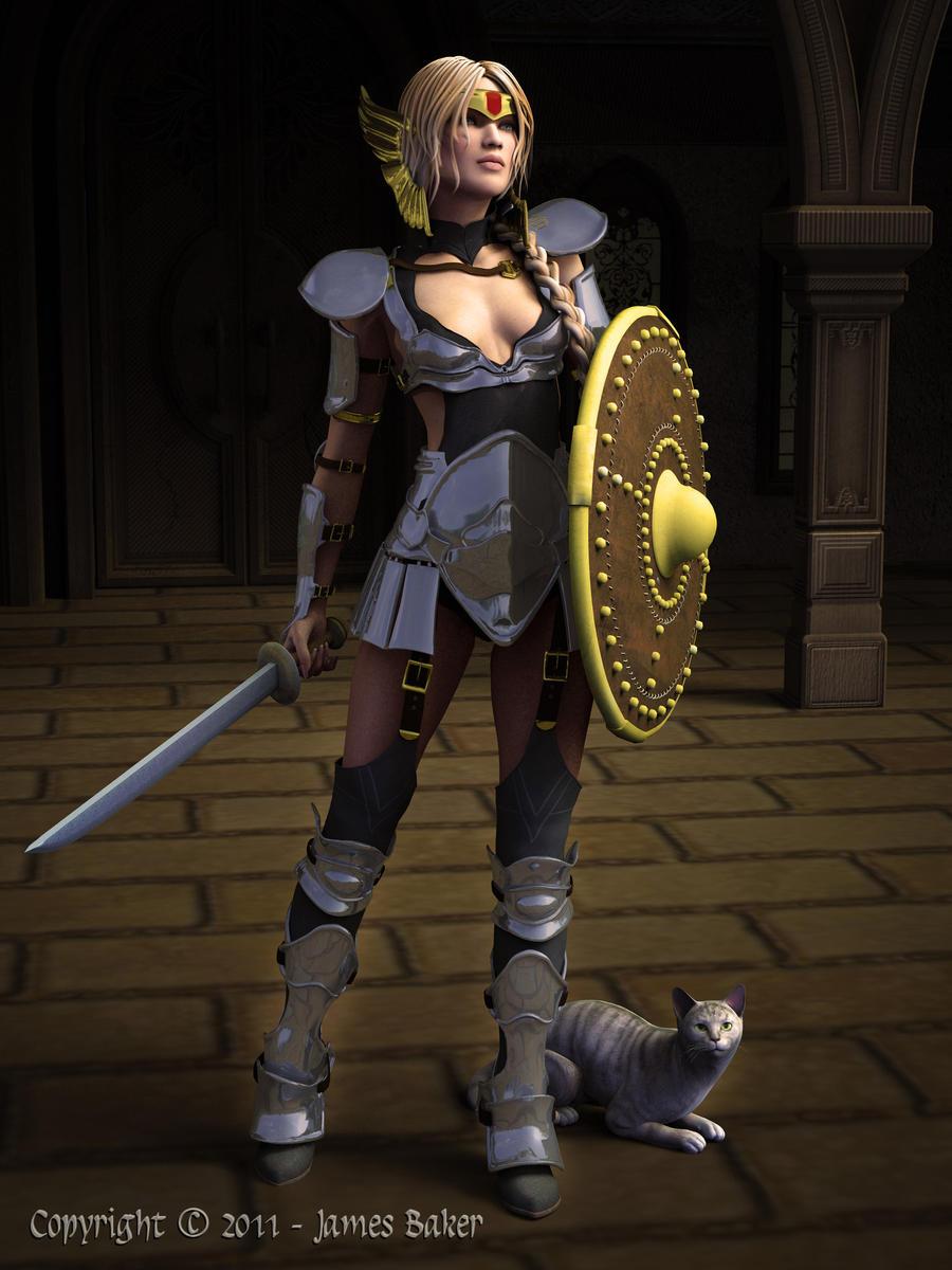 Freya by odhinnsrunes