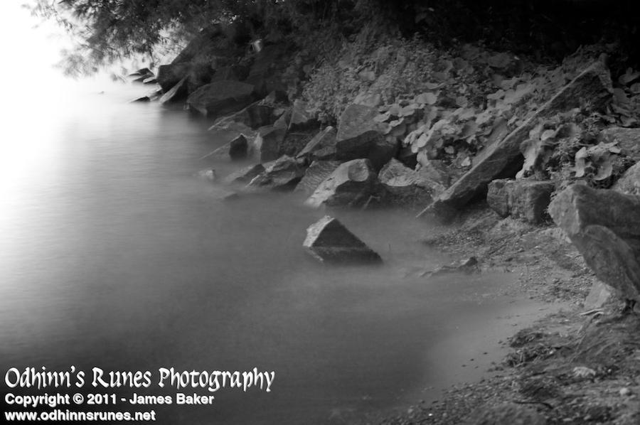 Misty Cove by odhinnsrunes